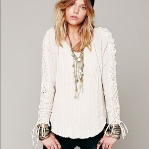 Free People New Romantics Crosstown Pullover